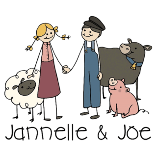 Jannelle and Joe logo