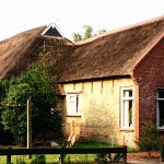 Klas DeVries farm in the village of Ureterp in northern Holland.