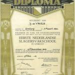 John DeVries diploma.
