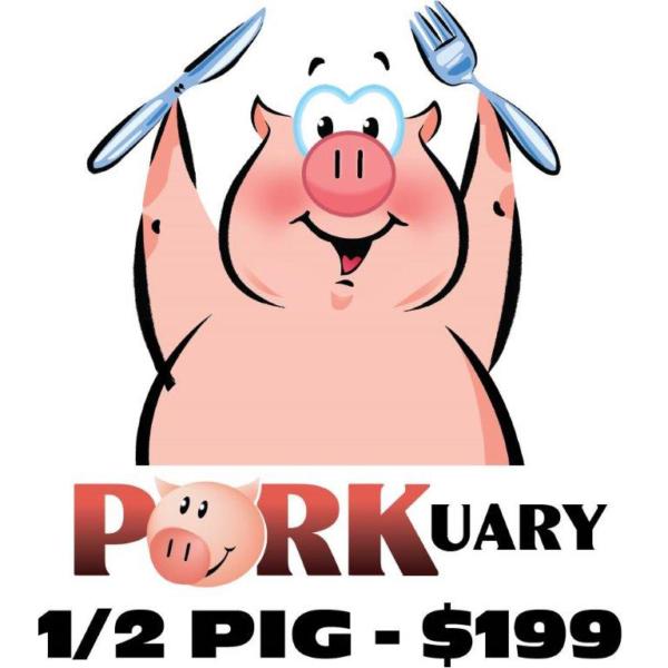 Porkuary Half Pig