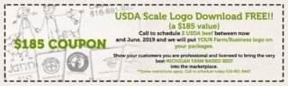 USDA Beef Scale Logo coupon